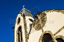 Kostel, věž U Obrázku