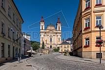 Kostel Zvěstování Panny Marie, Mariánský sloup, Šternberk