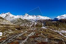 Grimselpass, Alpy, Švýcarsko