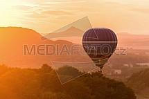 Bezděz, horkovzdušný balón