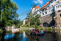 Český Krumlov, vodáctví