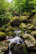 Malý Štolpich, vodopád