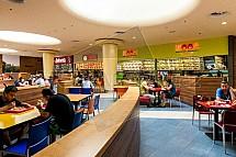 Foodcourt, stravování, fastfood