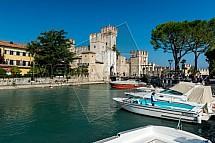 Sirmione, hrad, Lago di Garda