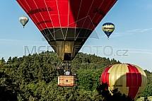 Horkovzdušný balon, let, skupina