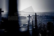 hřbitov, hrob, náhrobek
