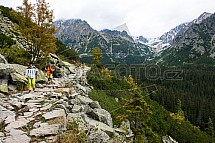 Vysoké Tatry, cesta, turistika