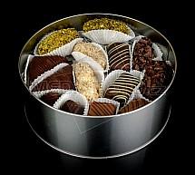 bonboniera, čokoláda, bonbon, dóza, kolekce, cukrovinka