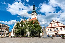 Kostel Proměnění Páně, Žižkovo náměstí, Tábor