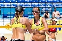 Roos Van der Hoeven, Jessica Smit, beachvolejbal