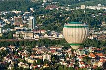 Liberec, horkovzdušný balon