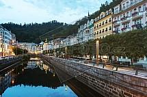 Karlovy Vary, řeka Teplá