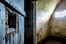 Dveře, cela, vězení