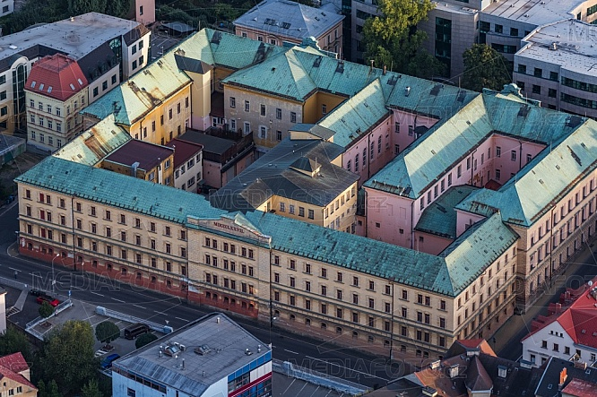 Vazební věznice, Liberec, letecky