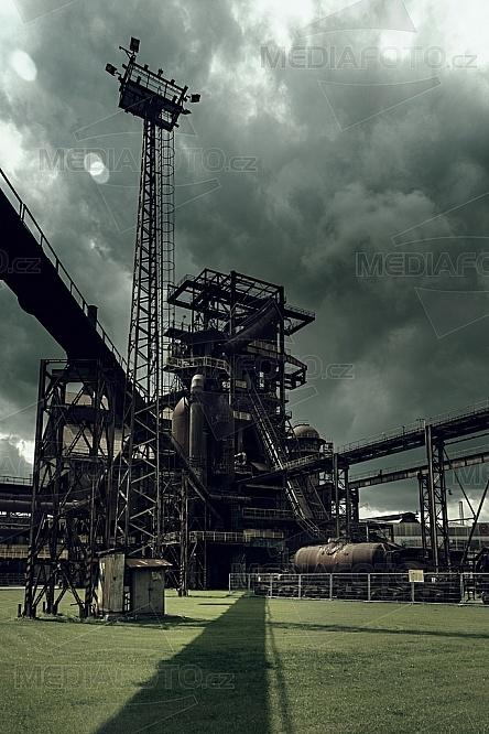 Vysoká pec č.1, Vítkovice, železárny