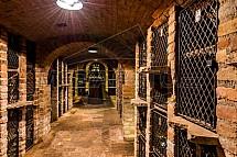 Archivní box, víno, Valtické podzemí, sklep, vinařství