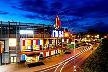 OC Nisa, obchod, nákupní centrum, exterier