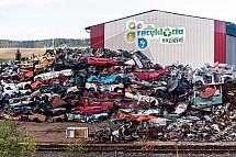 Automobil, šrot, recyklace, vrakoviště, vrak
