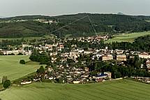 Český Dub, letecky