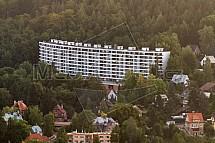 Wolkerák, Liberec, letecky