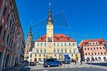 Radnice, Bautzen, Budyšín, Německo
