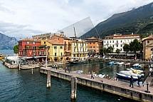 Malcesine, Lago di Garda, přístav