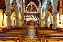 Katedrála svatého Ondřeje, interier, Inverness