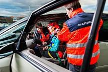 Řidič, nehoda, zranění, pacient, lékař