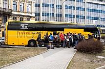 Doprava, Student Agency, autobus, Liberec