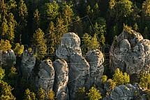 Hruboskalsko, skalní město