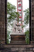 Edinburgh, socha