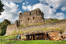 Michalovice, hrad, zřícenina
