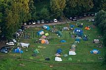 Kemp, camping, kempování, Sedmihorky