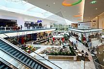 Obchodní centrum Černý Most, food court