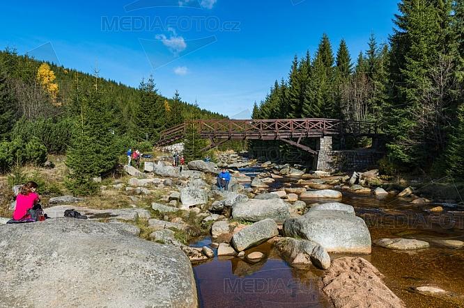 Karlovský most, Jizera, Jizerské hory, Krkonoše