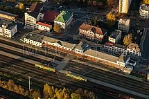 Nádraží, stanice, ČD, Turnov
