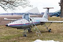 Vlečný, terč, KT-4, letadlo, stíhačka, model