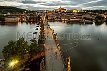Karlův most, Hradčany