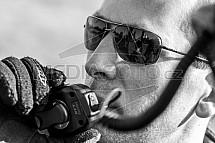 Ivan Kábele, pilot horkovzdušného balonu, vysílačka