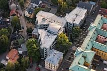 Krajský a Okresní soud, Liberec, letecky