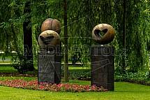 socha, kolonáda Poděbrady