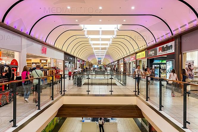OC Nisa, obchod, nákupní centrum, pasáž