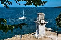 Jachta, pobřeží