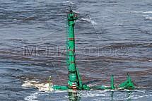 Podvodní buldozer Komatsu