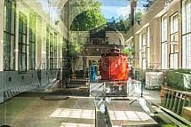Vodní elektrárna Spálov, interier, generátor