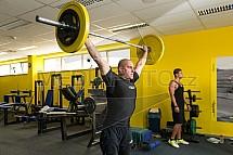 posilovna, fitness, trénink, Radek Hadrovský