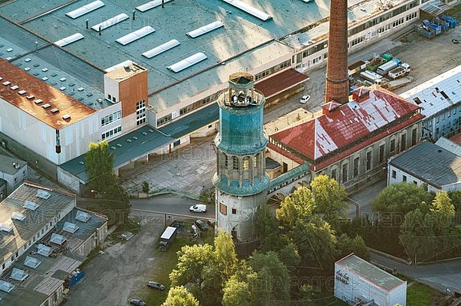 Zauhlovací věž, Vratislavice, letecky