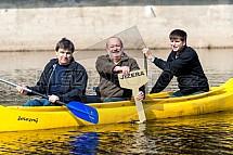Vodáctví, kanoe, odemykání