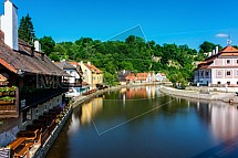 Český Krumlov, Vltava, řeka