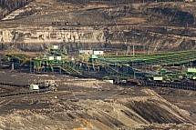 Hnědouhelný důl Turów, těžba